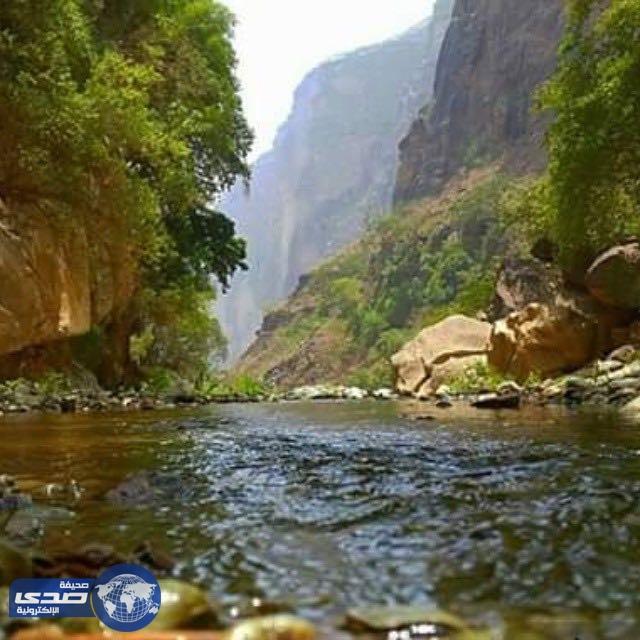 وادي لجب بجازان أعجوبة سياحية تعاني نقص الخدمات تقرير صحيفة صدى الالكترونية