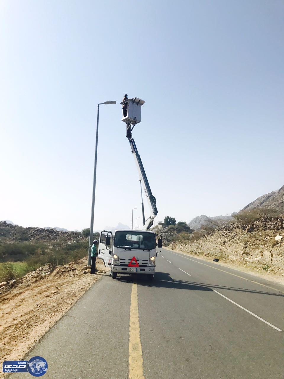 بعد جولتها الأسبوع الماضي: بلدية أضم تبدأ أعمال الصيانة ...