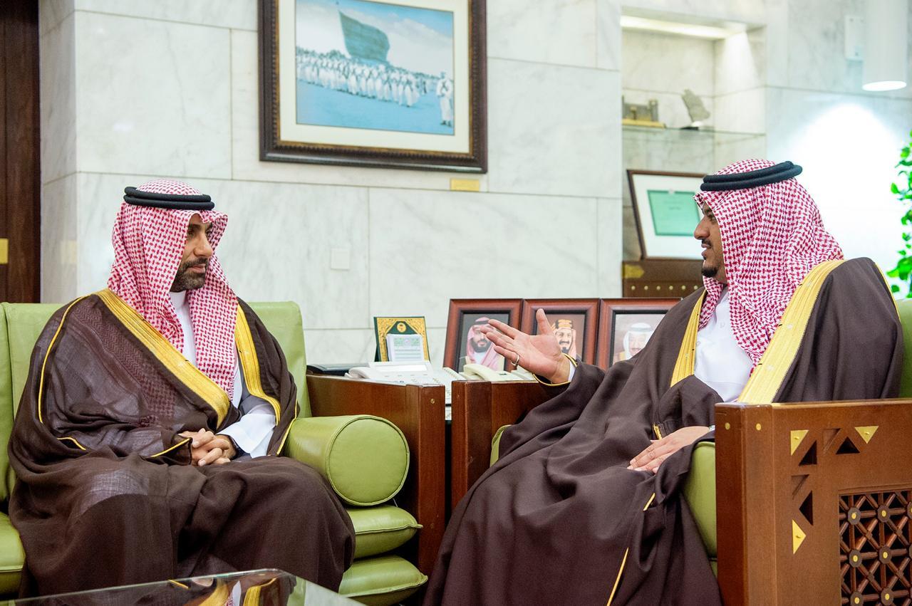 نائب أمير الرياض يستقبل الرئيس التنفيذي للهيئة الملكية لمدينة الرياض صحيفة صدى الالكترونية