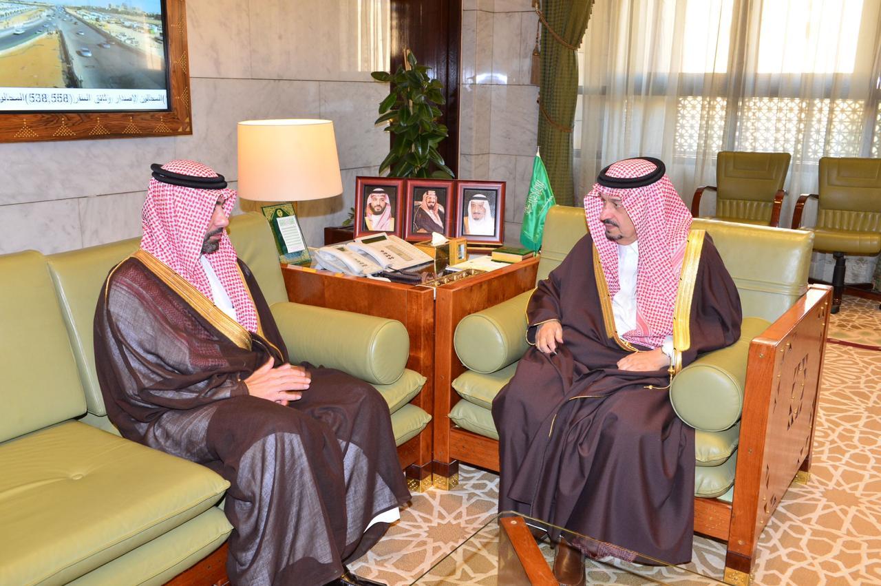 الرشيد يشكر القيادة على تعيينه رئيس ا لـ الهيئة الملكية لمدينة الرياض المدينة