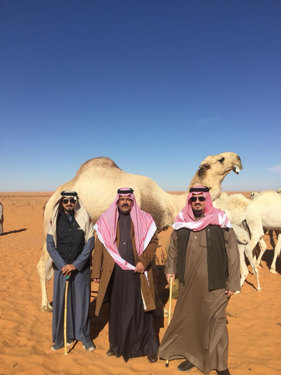 امير منطقة حائل ومساعده في ضيافة الامير محمد بن فهد ال سعود صحيفة صدى الالكترونية