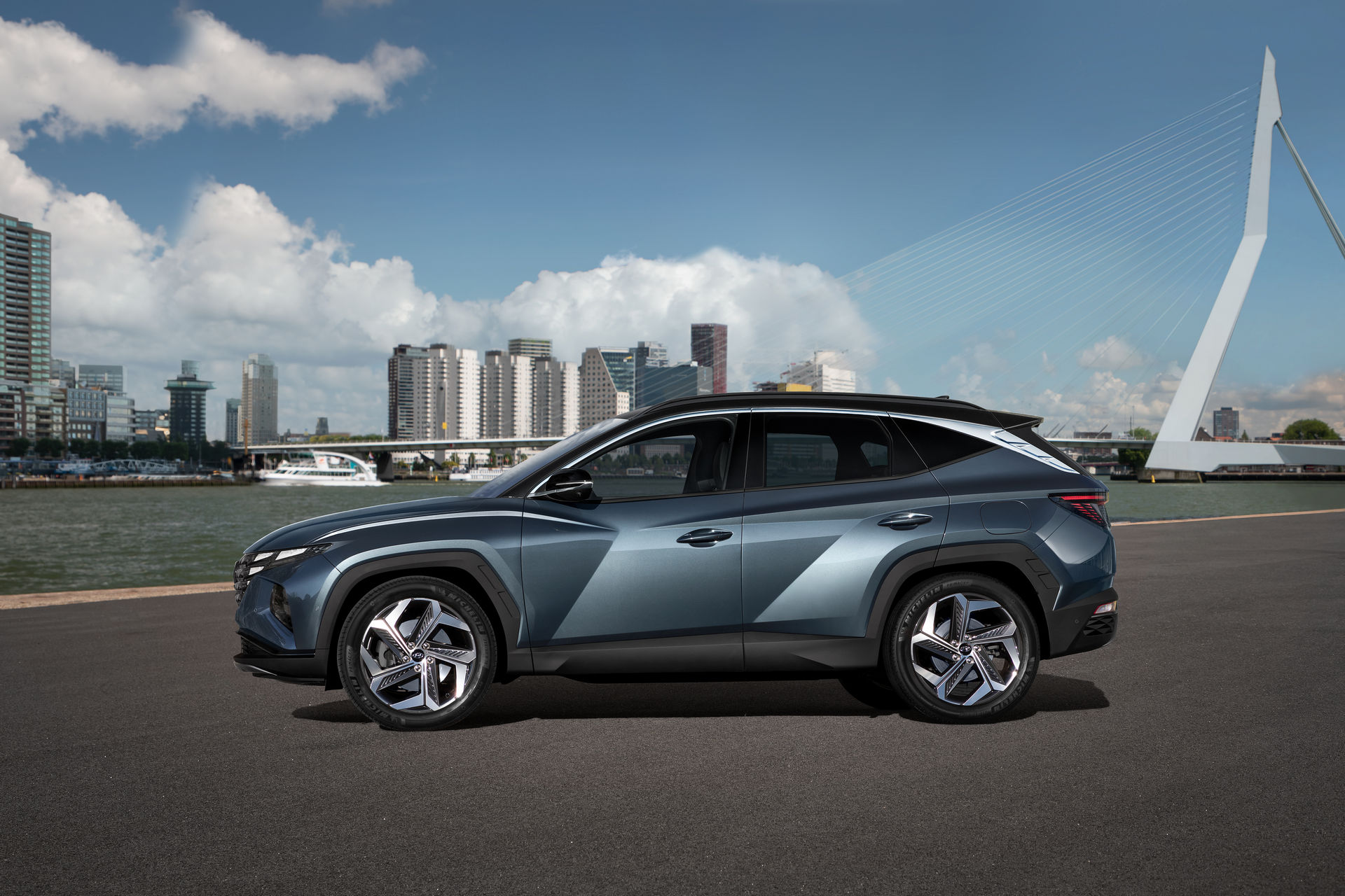 بالفيديو والصور.. انطلاق هيونداي توسان 2022 الجديدة كليًا رسميًا 2021-Hyundai-Tucson-7.jpg