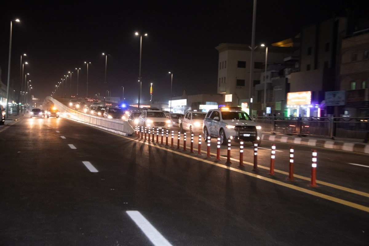 اخبار السعوديه بالفيديو والصور لحظة افتتاح طريق الأمير نايف بن عبدالعزيز بالدمام