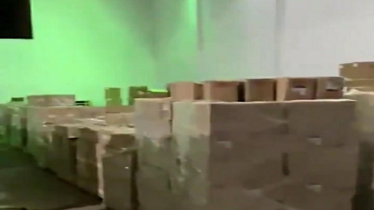 بالفيديو.. ضبط أكثر من ٢٨٠ ألف قطعة غيار تم تزوير بلد منشأها